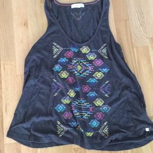 Tank Top with pattern